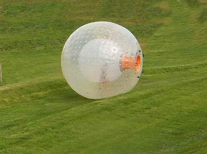 Zorbing At Pigeon Forge Outdoor Gravity Park Mommy S Memo