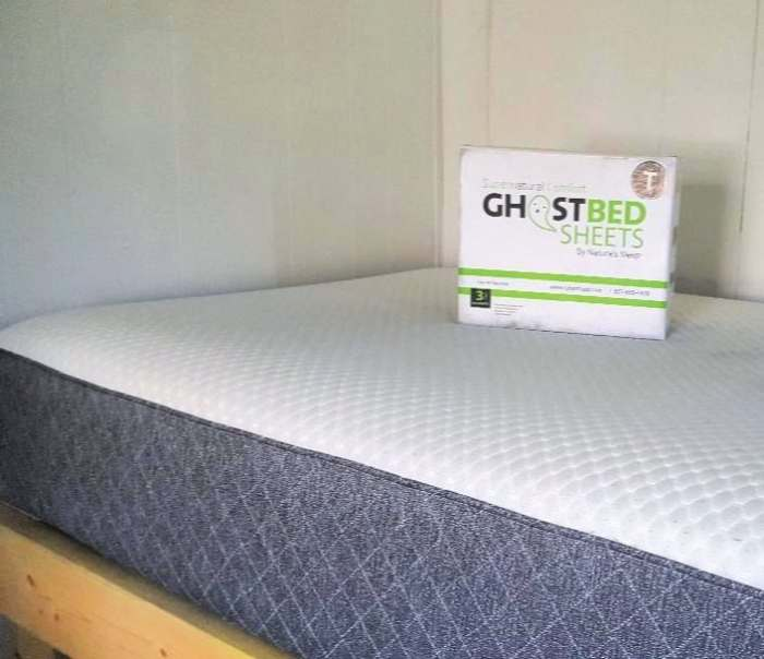 ghostbed sheet in box