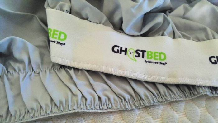 ghostbed sheets corner grab