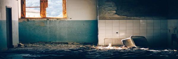 bathroom demolition during renovation