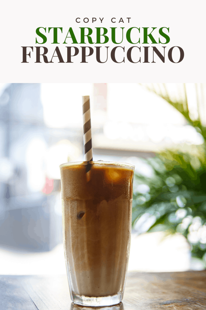 Easily one of Starbucks' most popular drinks, the Frapuccino can be made with this simple recipe.