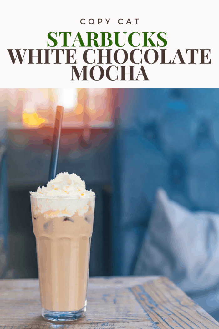 As far as copycat Starbucks recipes go, the white chocolate mocha is always a fun drink to experiment with.