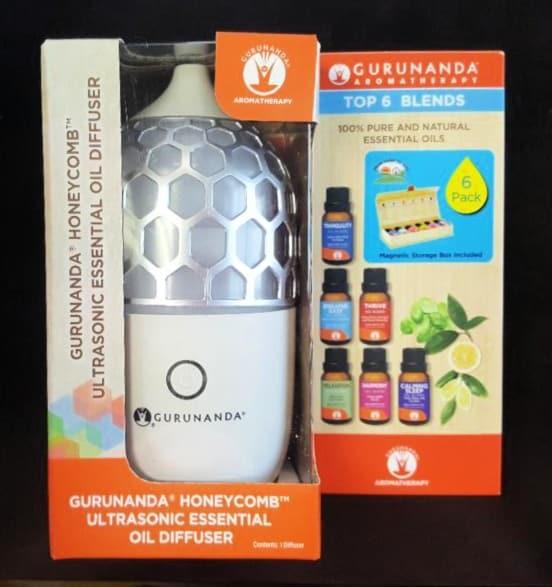 gurunanda honeycomb with 6 top gurunanda blends (1)