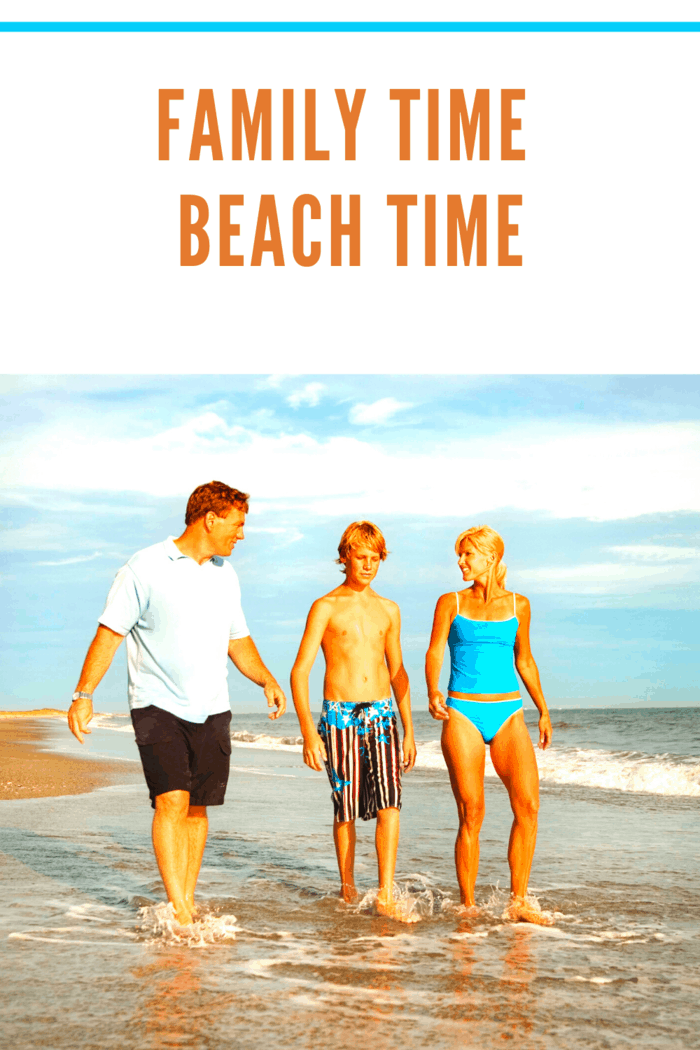 If you don't have a beach in your city, head to the nearest beach town for a day-trip.
