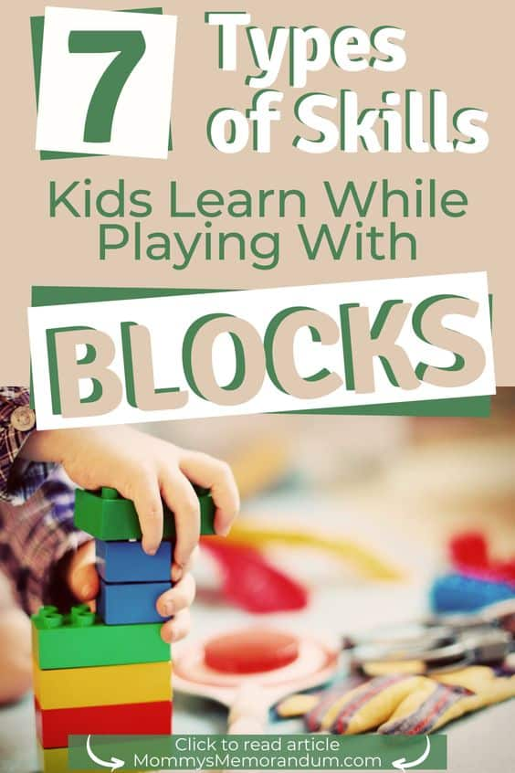Building blocks are powerful learning tools to help children develop. This article covers the skills kids learn when playing with blocks.