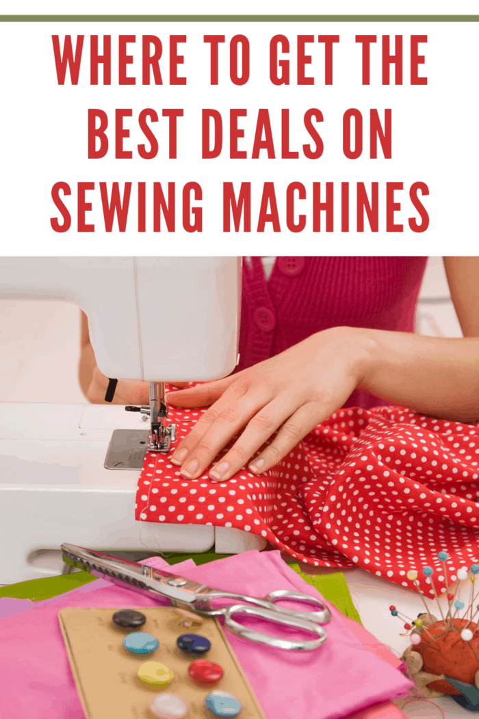 These coupons can be used throughout the year in order to get discounts and different deals on sewing machines.