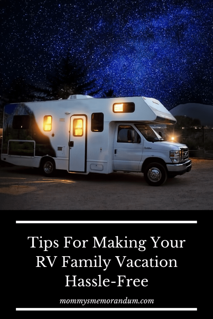 If you're renting an RV for your family vacation, it's important to choose one that will suit your needs.