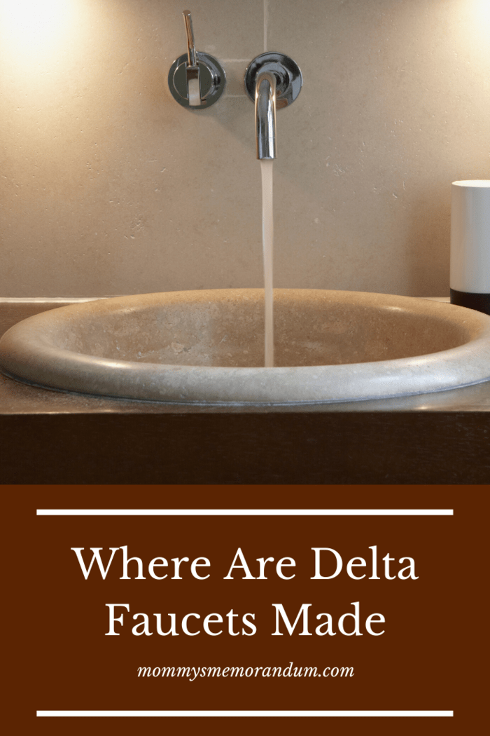That's why most Delta faucets are safe and highly durable lasting 10 times longer than other brands.