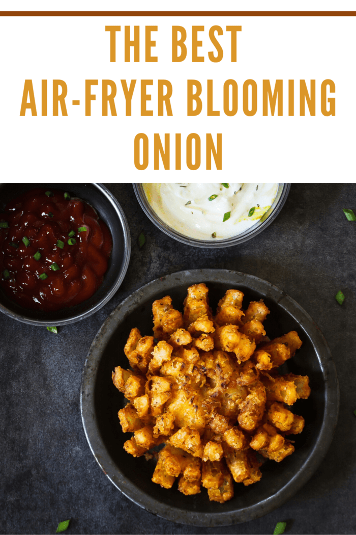 There is something about a Blooming Onion that brings out the oohs and the ahs. This Air Fryer Blooming Onion does not disappoint.