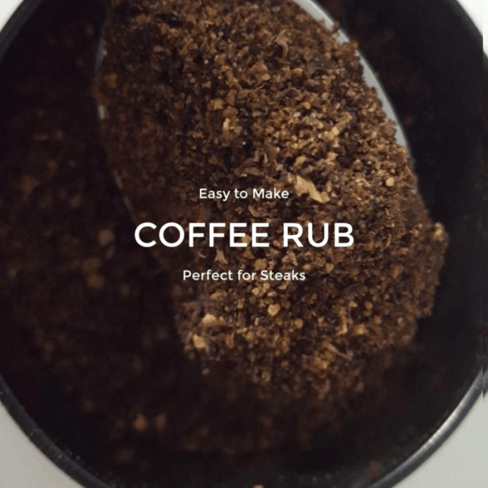 coffee rub for steak