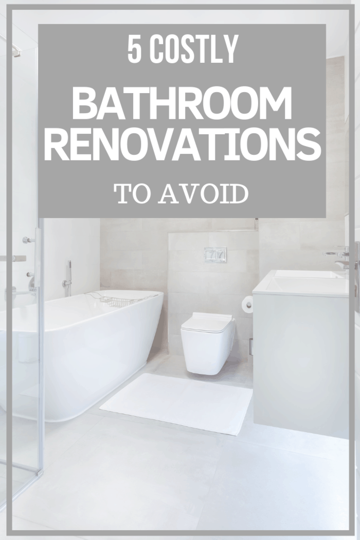 Renovating your bathroom is one of the best investments you can make as a homeowner here are the bathroom renovation mistakes not to make.