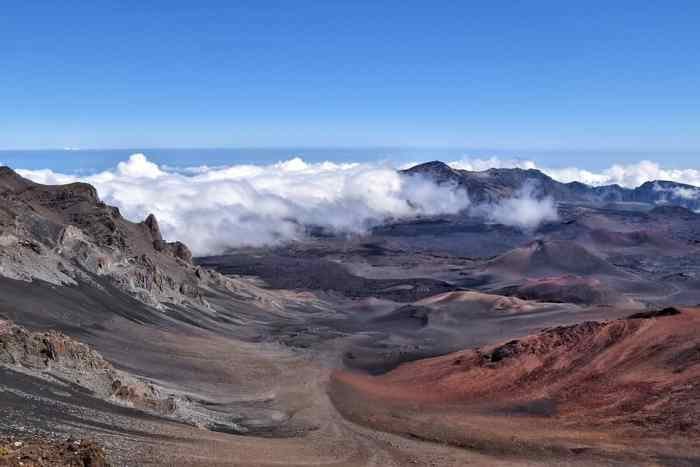 Hawaii Volcano a site to see while visiting Haleakala National Park