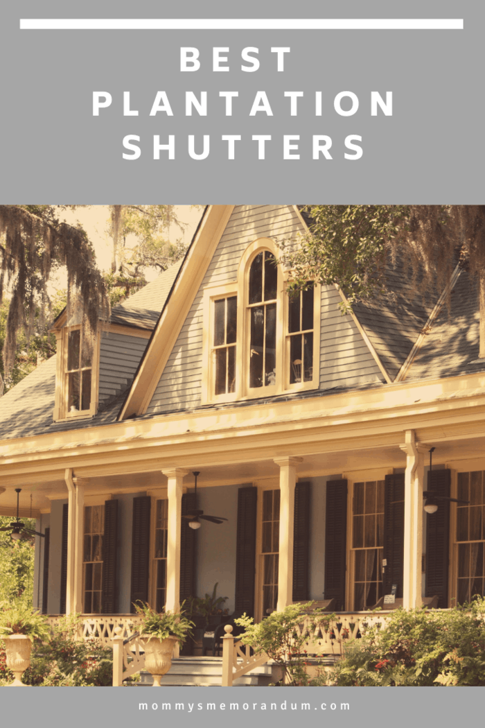 When looking for the best plantation shutters Brisbane, all homeowners should keep in mind each detail that goes into making ready for their homes.