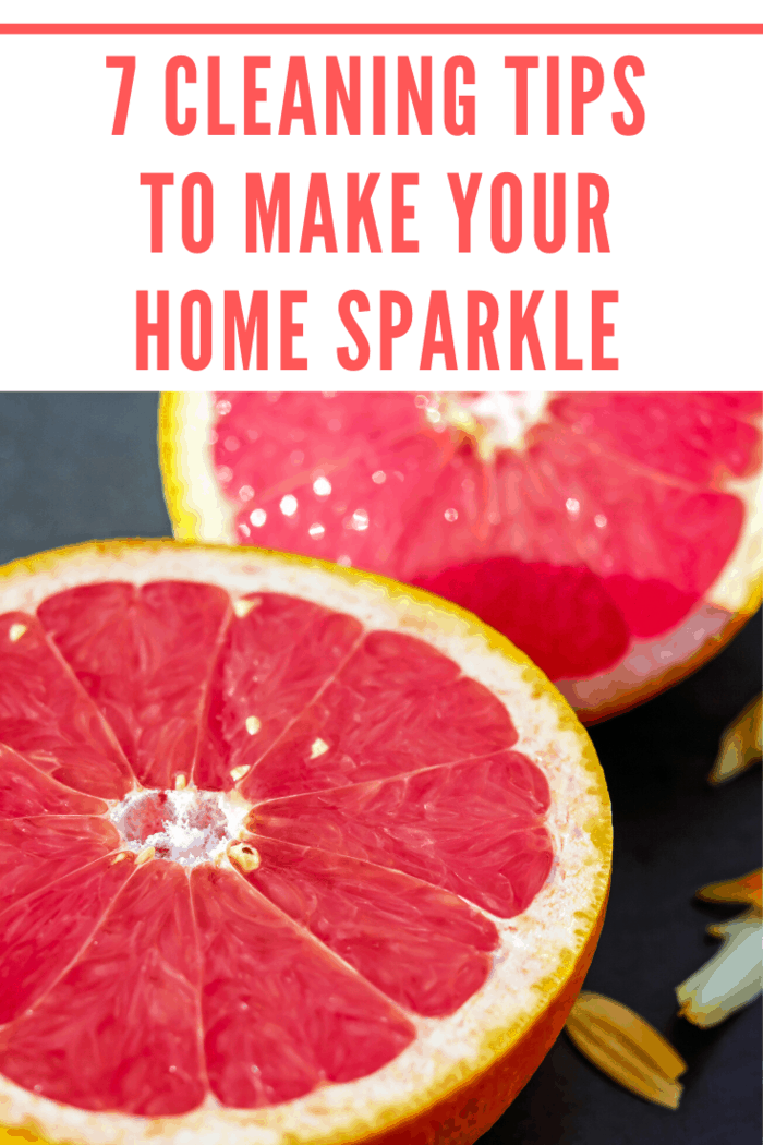 Grapefruits, in particular, are excellent for the bathroom, especially for taps or any other metal-plated parts of the home. Cut the fruit open, scrub it over the surface and let the juices stay in place for up to a quarter of an hour.
