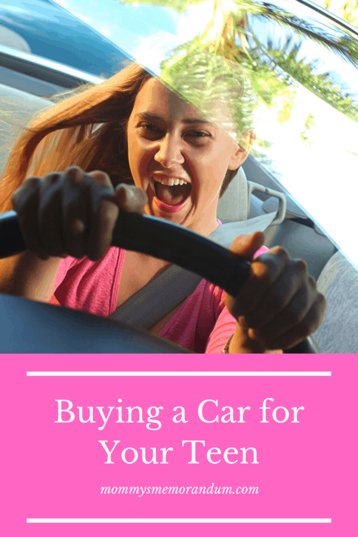 There are things to consider before purchasing your teen's first car.