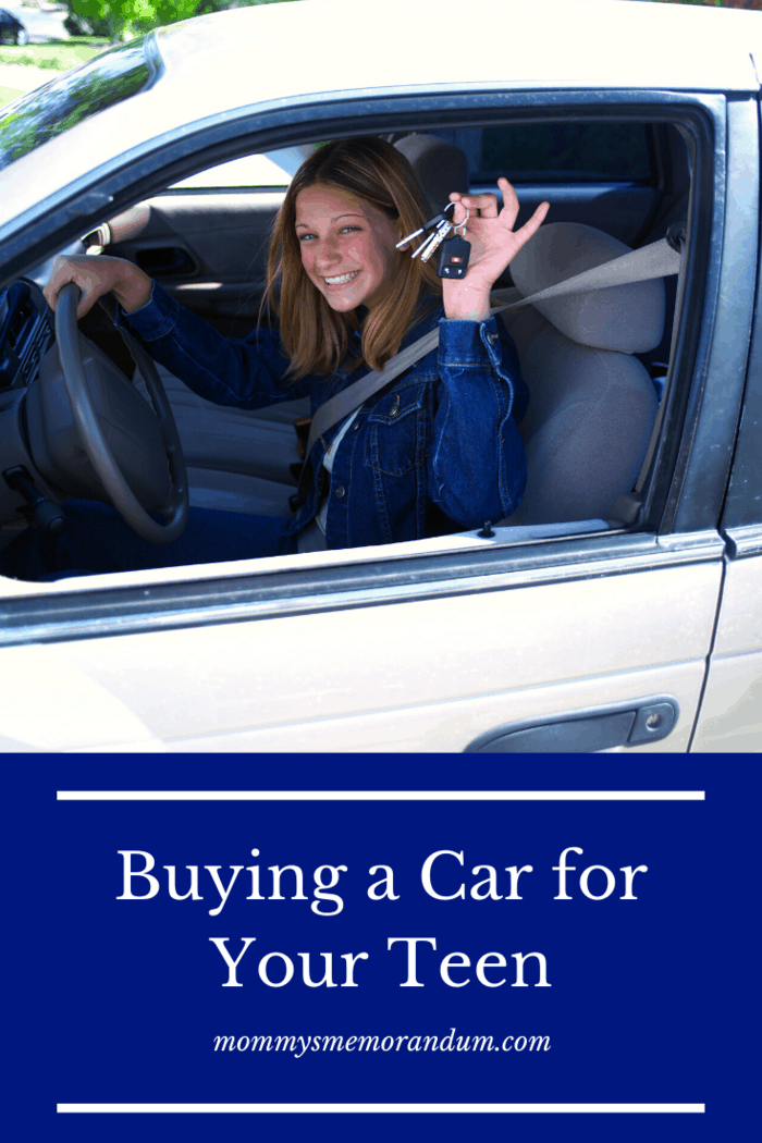 Your teen will also need to take good care of the vehicle.