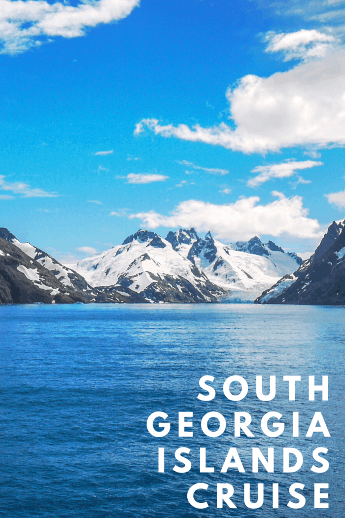 In the southeast of South Georgia, you can find the Dryglaski Fjord. This is perfect for those who love sightseeing and want to take pictures of incredible mountains.