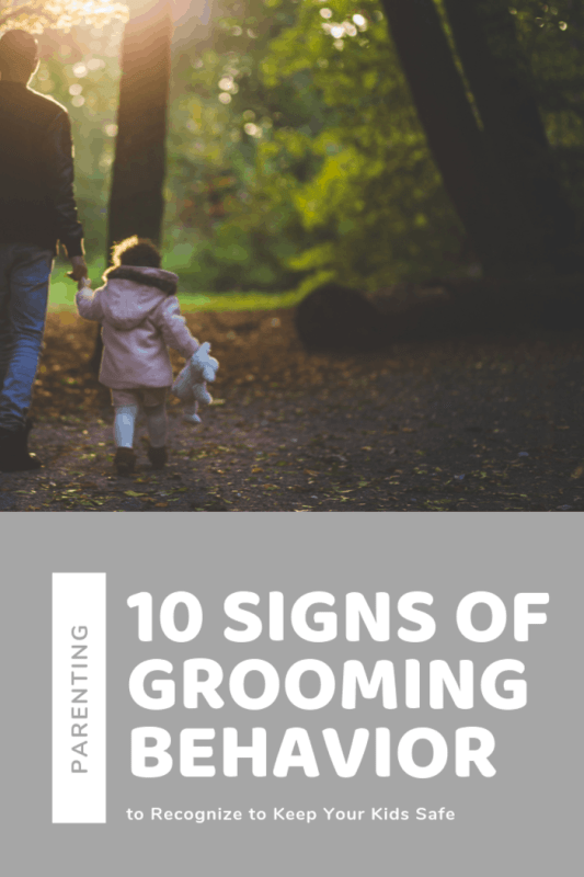 Recognizing these clues during the early stages can stop grooming behavior and prevent your child from going through a traumatic experience