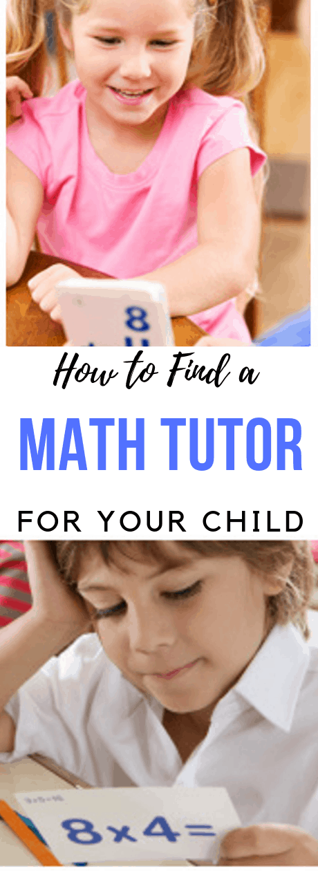 math tutor teaching boy and girl of different ages math with flashcards
