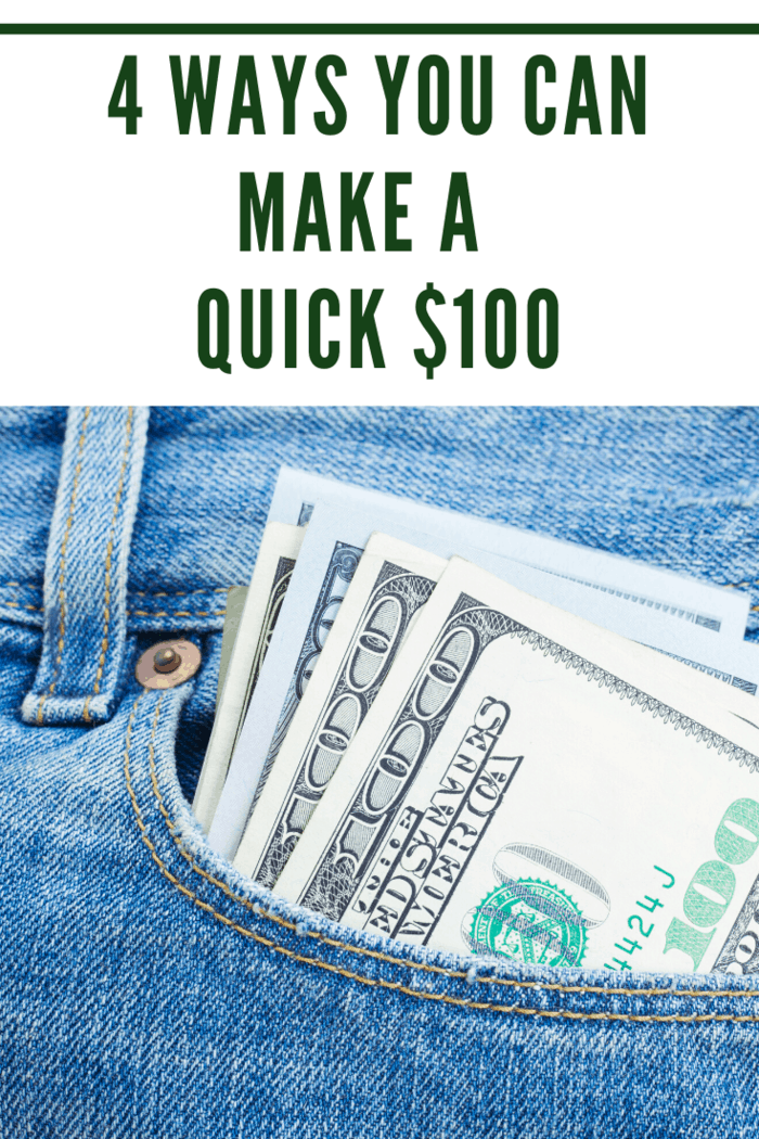 Here's how to make money fast: easy ways to make $100 or more: