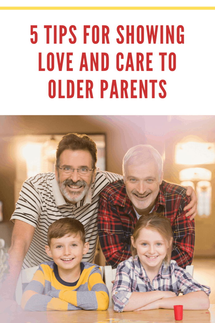 While the desire to love and care for your elderly parents is admirable, it's crucial that you still take care of your immediate family.