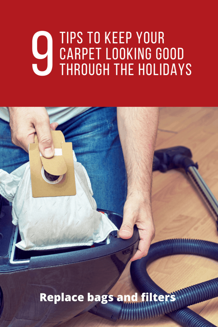 Changing the bag and filter often ensures that your vacuum is in good condition.