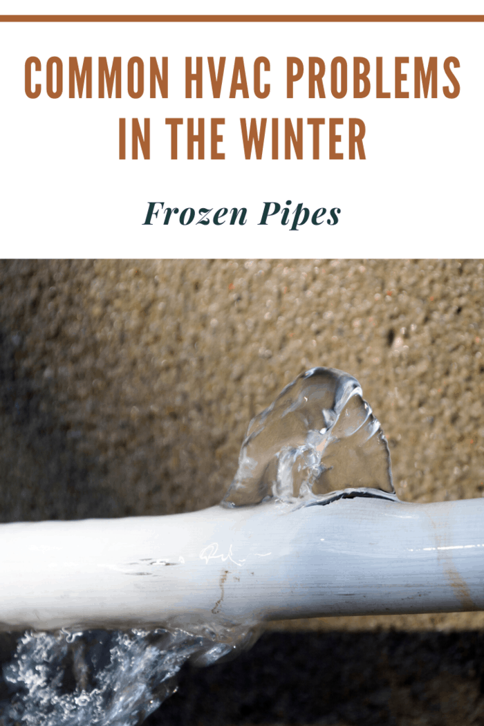 Are you looking to learn about common HVAC problems you could experience in the winter?