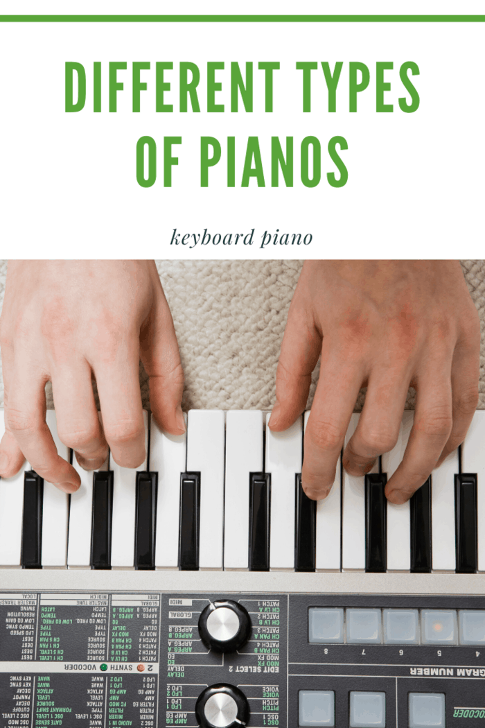 his version of a piano is also digital but it has a certain computer-like sound.