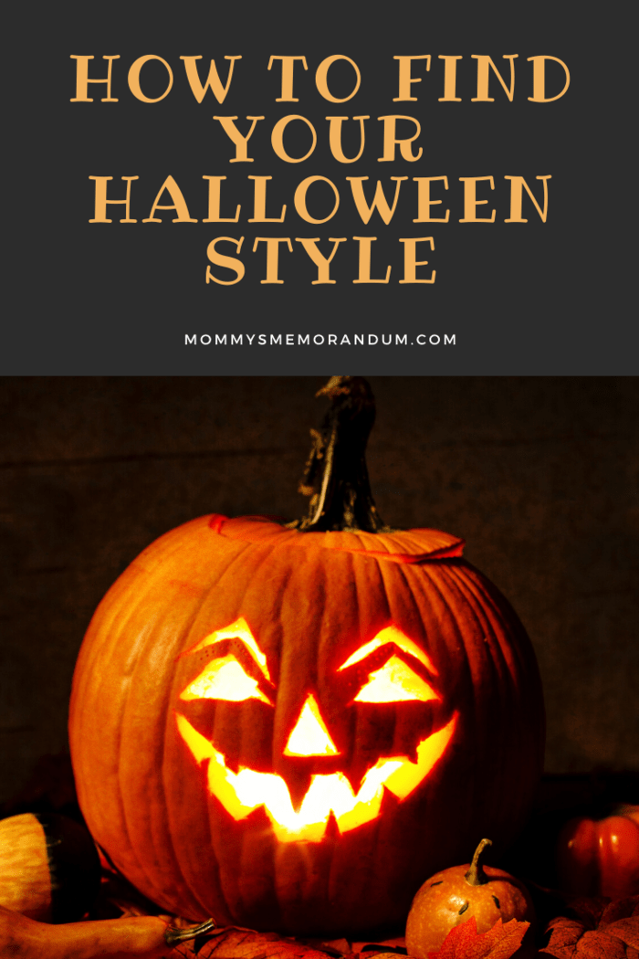 halloween style with lighted jack-o-lantern