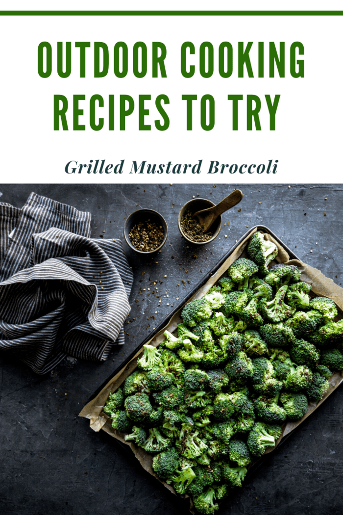 This broccoli is different than what your mom used to make. It's basted in sauce and then grilled for extra flavor.