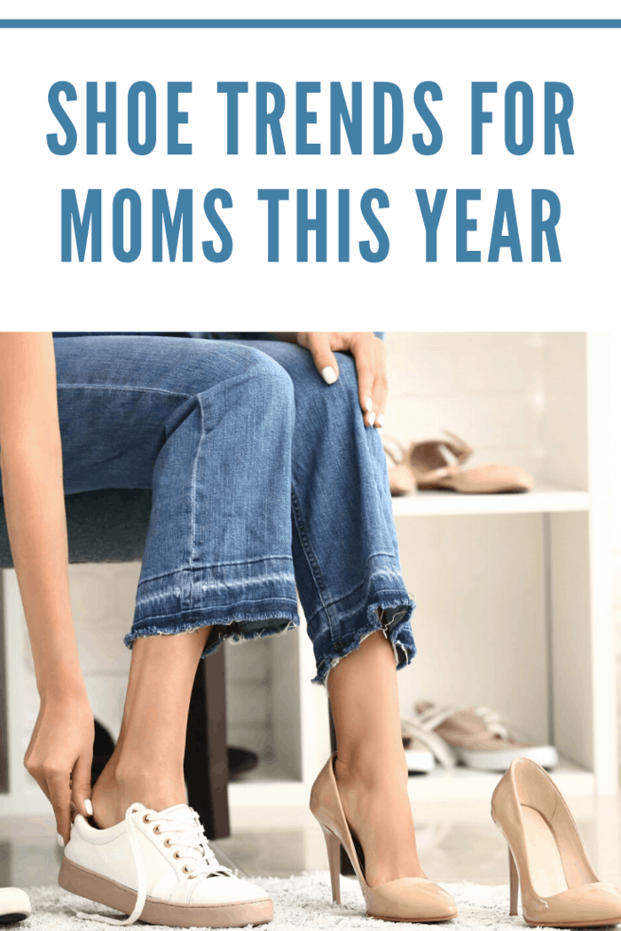 We have outlined the latest shoe trends for moms this year! You will be ahead of shoe fashion this year with this secret guide!