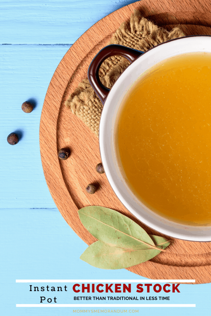 This Instant Pot Chicken Stock recipe (you might call it Chicken Broth) creates a flavorful, gelatin-rich chicken stock that tastes better than the traditional version, but instead of simmering for endless hours, it's ready in just about an hour.