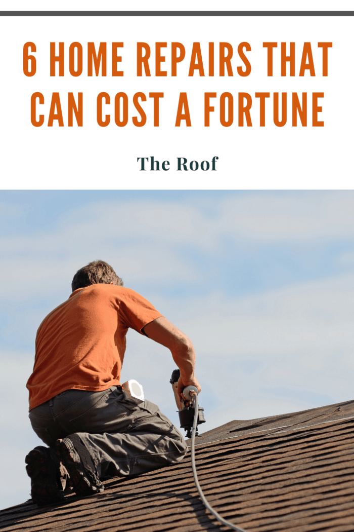 Small leaks or cracks are things you might be able to fix yourself for a reasonable cost if you're willing and able. But if your whole roof needs replacing, it could cost you up to $20,000 or more.