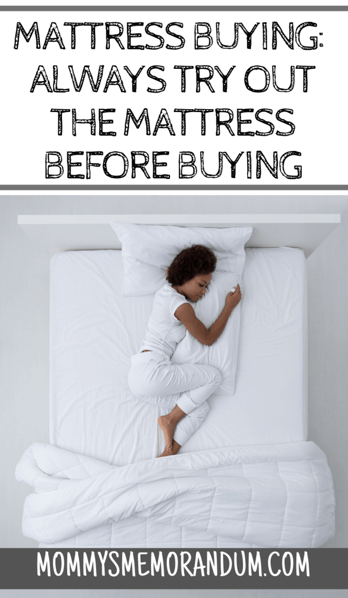 Although this may be a bit funny for some buyers, it actually helps you choose the best mattress if you give it a try before purchasing it.