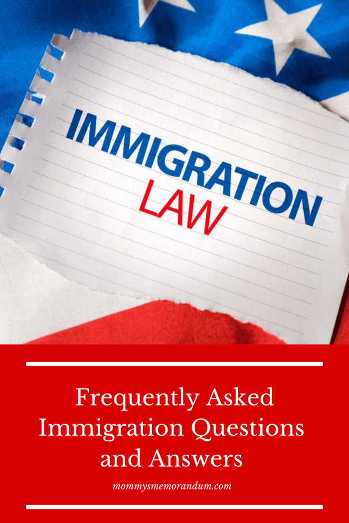 Do you have immigration questions, or are you curious about how immigration in most countries works?