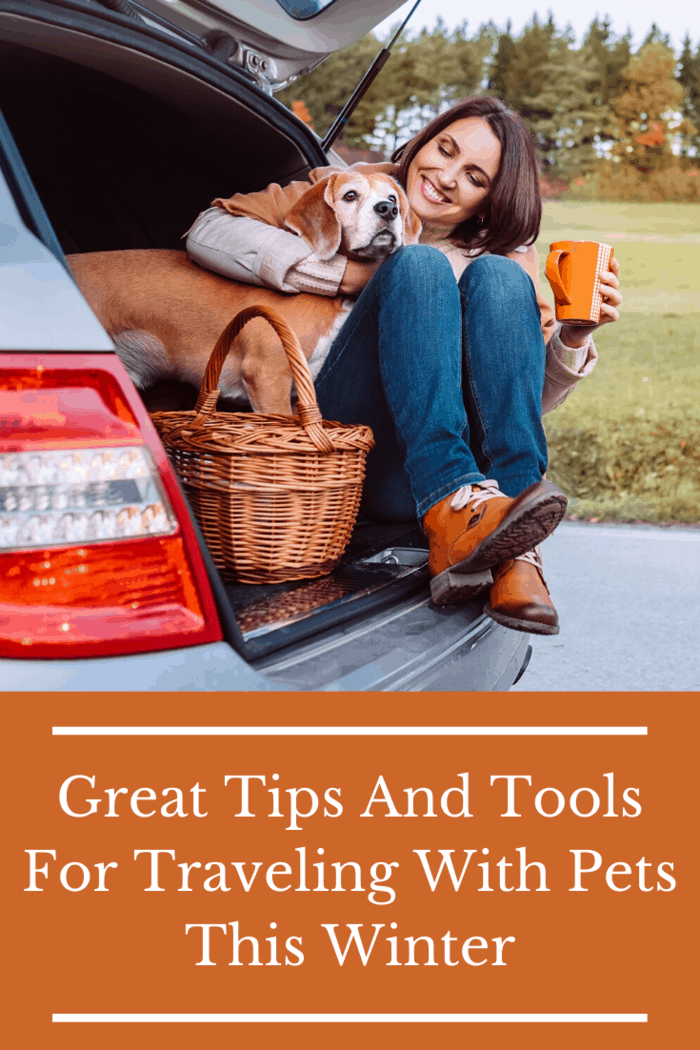 Don't stuff your pet into a tiny spot in the car. This will make them uncomfortable. Create a nice comfy bed where they can happily sleep during the hours of travel.