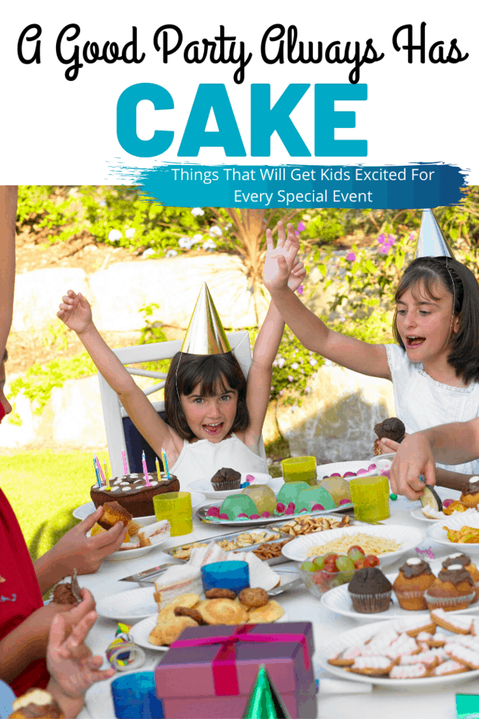 pay extra attention to the food in the event, and you'll see the kids' eyes shine with excitement like never before. A good party has cake –– always remember that!