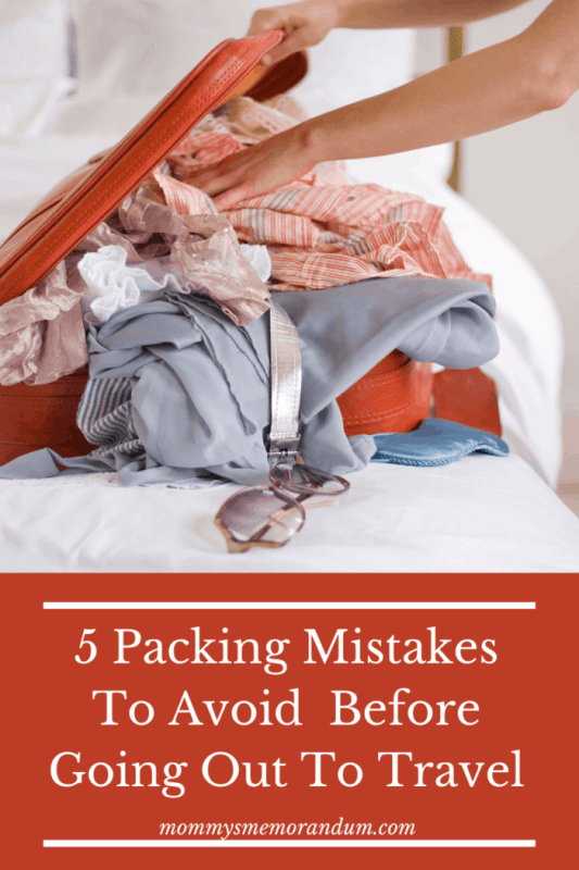 Here are a few mistakes that many of us commit while packing our bags for a solo camping trip. Make sure you steer clear off packing too much by keeping these points in mind.