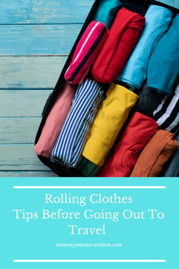 In the case of thicker items like jeans or fleece jackets, it is always a good idea to fold them for packing.