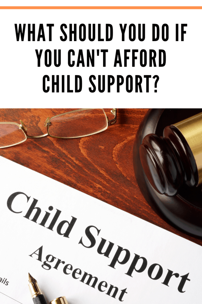 As of January 2018, there are 13.6 million custodial single parents in the U.S., and around half ask for child support--so what do you do if you can't afford child support?