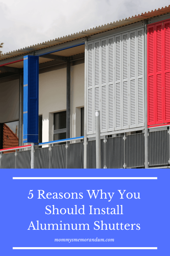 Here are the five prominent reasons the aluminum shutters are the most popular type of shutters and are a necessity in every house.