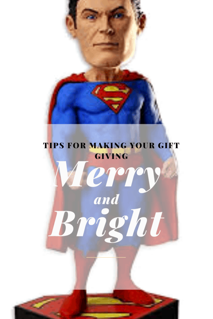 It's may not be easy to find a gift for a loved one. It's also hard to understand what would please and if the recipient appreciated the gift. It's even made harder if you don't know his interests. For example, you may want to buy a superman bobblehead for your child.