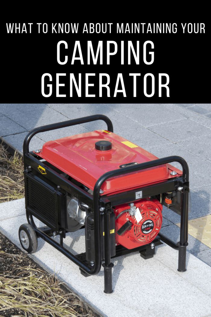 Typically, for camping generators, they run for a couple of hours before gas starts to become an issue.