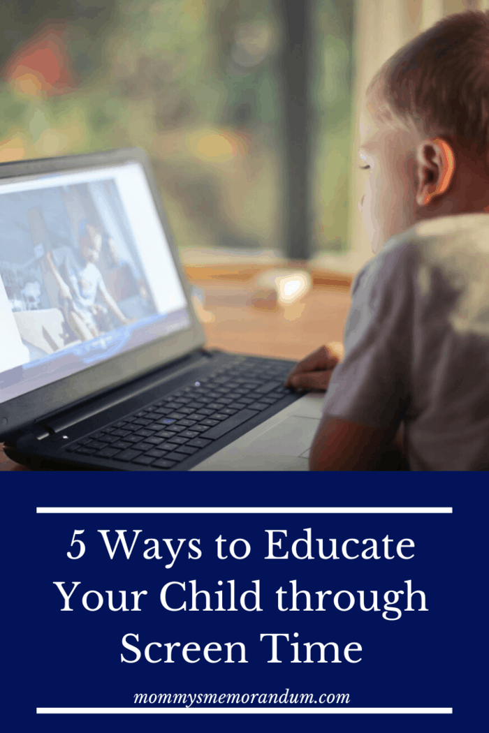 Here are some applications and software that may help educate your child through a computer screen: