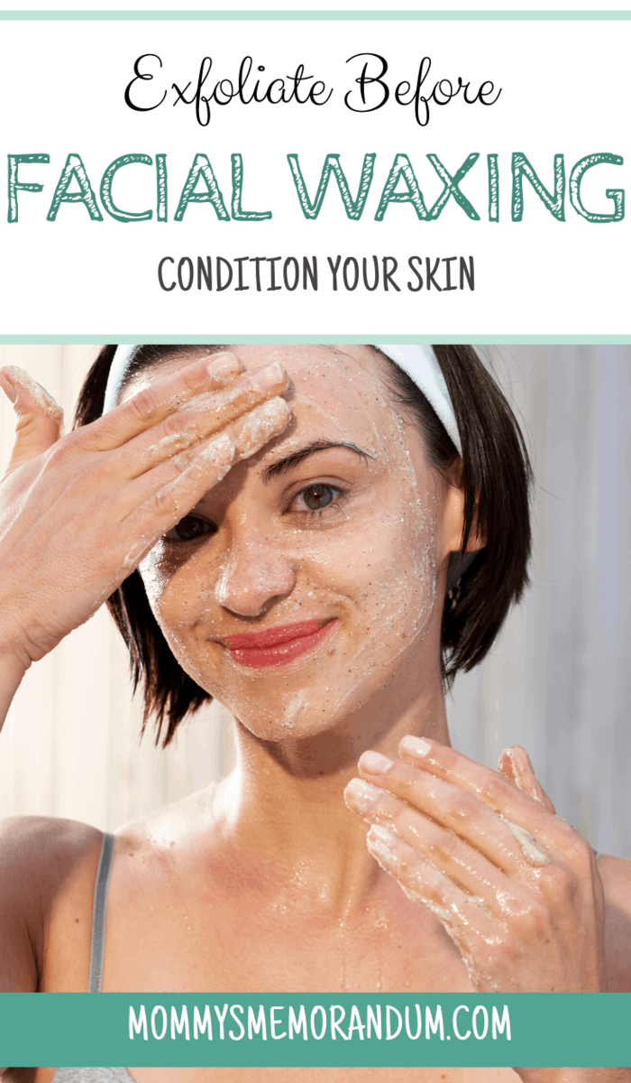 Exfoliating is great for our skin. And it's an even more important step before waxing.