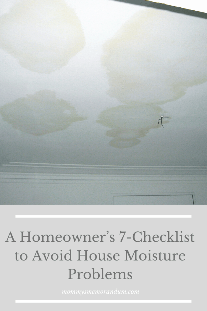 Don't disregard ceiling and wall stains because they mean serious moisture problems. Homeowners may have misconceptions that these stains are due to rain, which in fact, they are not. More often than not, the cause is condensation within these cavities.