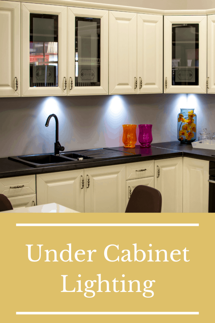 Making use of this space with the right lighting makes it easy to get things done there. A series of lights can be set underneath the cabinets in order to help people find every bit of laundry detergent and every bar of soap they need.
