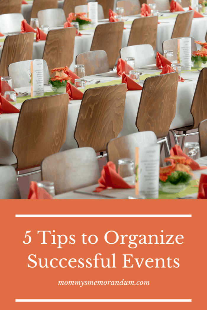Before planning, what you can do is pre-plan the event with your team, discuss altogether, write down the details you want to know, and then discuss with people for whom you are organizing.