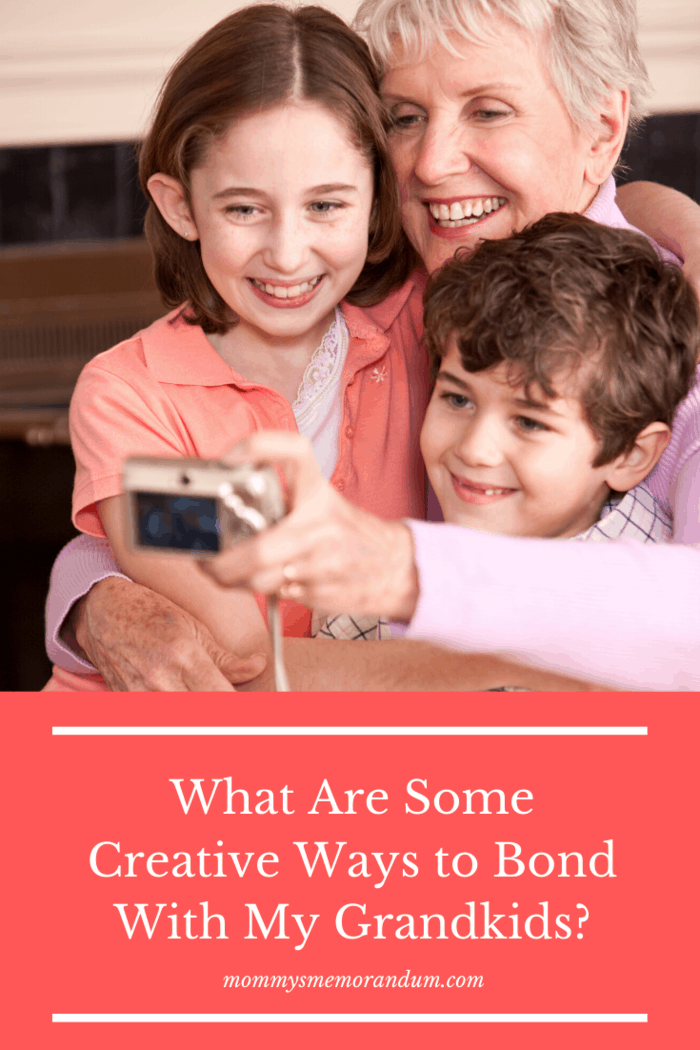 """If you're a grandparent or expecting to be one soon, you might be wondering """"what can I do to bond with my grandkids?"""" Here are some creative ways."""