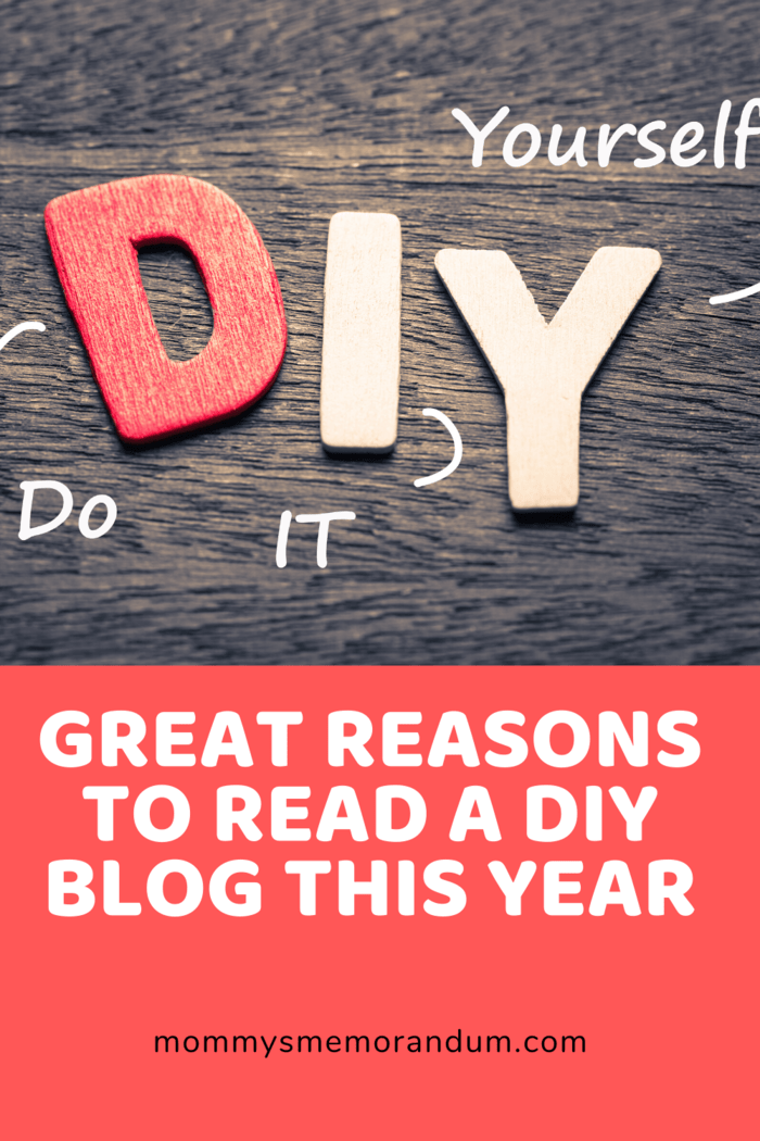 This is the reason why DIY blogs are becoming popular.